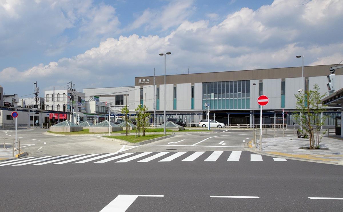 拝島駅南口整備事業が全国街路事業コンクール会長賞を受賞されました。