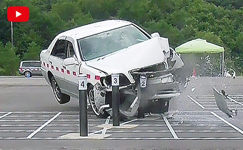 交差点安全対策用車止め 「インパクトボラード®」